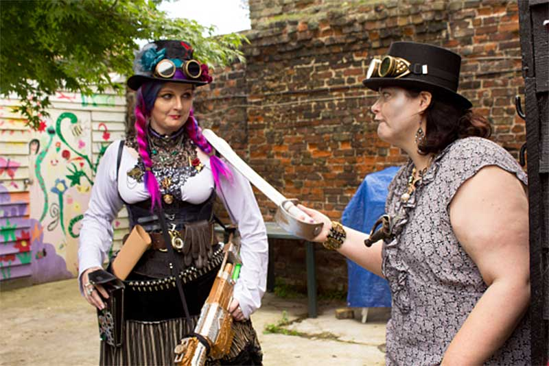 Rochester Literature Festival hosts the Travelling Talesman