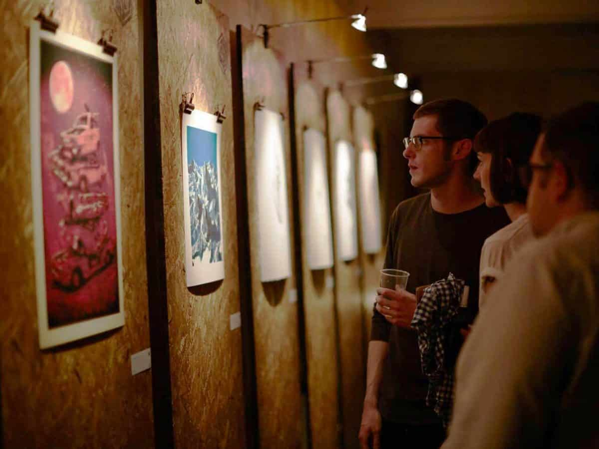 96 Editions, art gallery and giclée print editions house, launches with Flock event