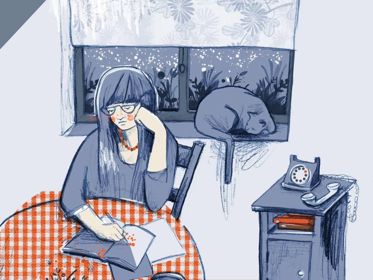 From children's book publishing to freelance illustration: the career of Rebecca Bagley