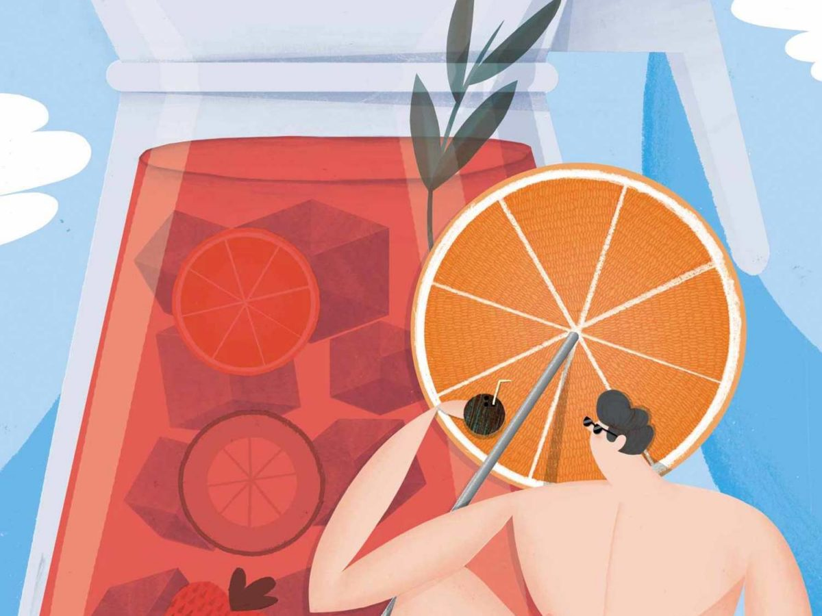 Illustrator Michael Driver on the testing nature and weighty concepts of editorial illustration