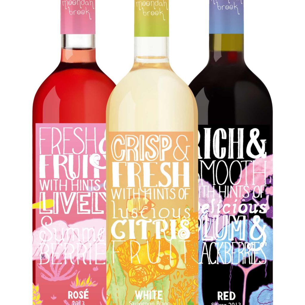 Hand drawn typography and packaging design by Claire Morgan