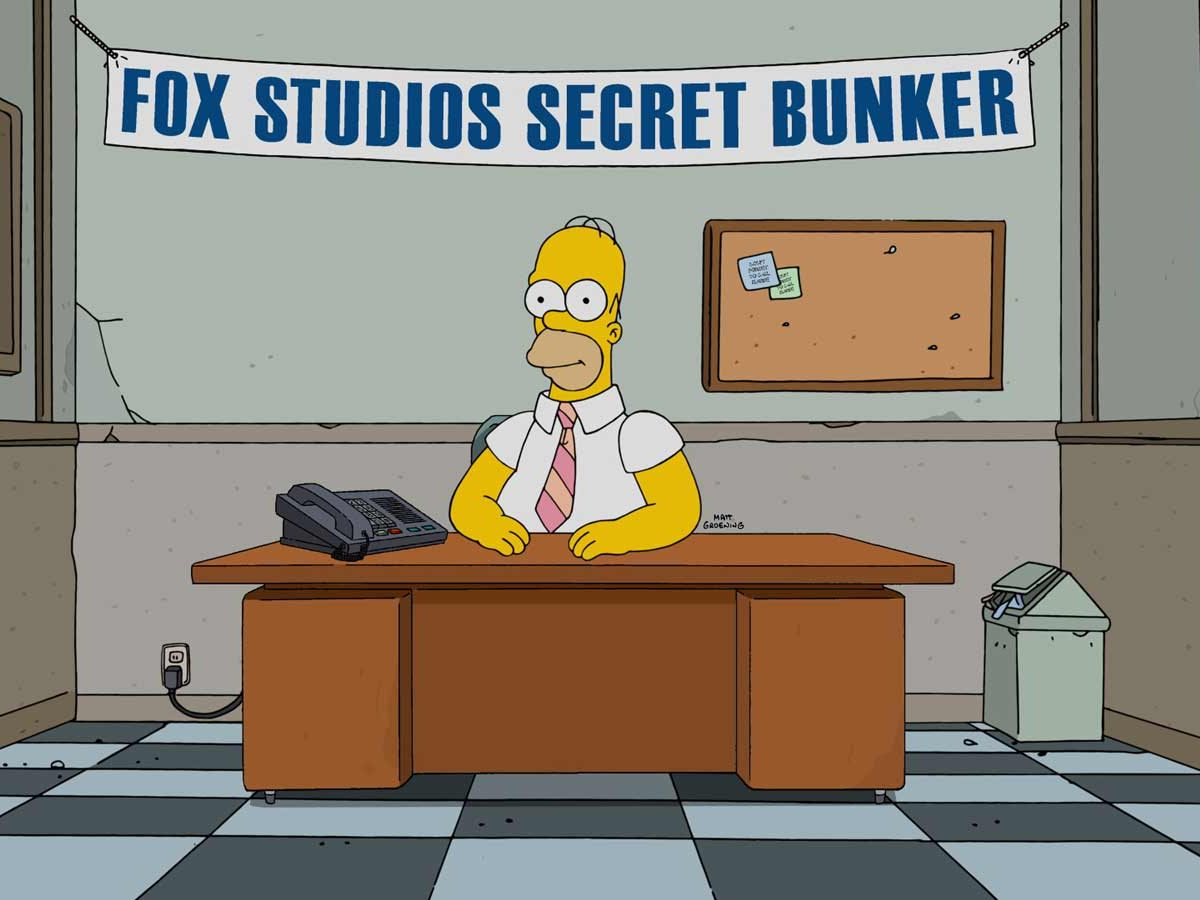 Woo hoo! The Simpsons TV show and Adobe make live animation television history