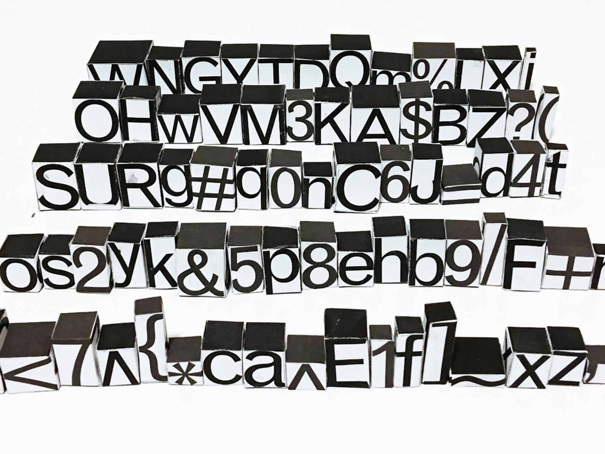 Typographic designer Nazli Ercan on art history, critical theory and tactile graphic design