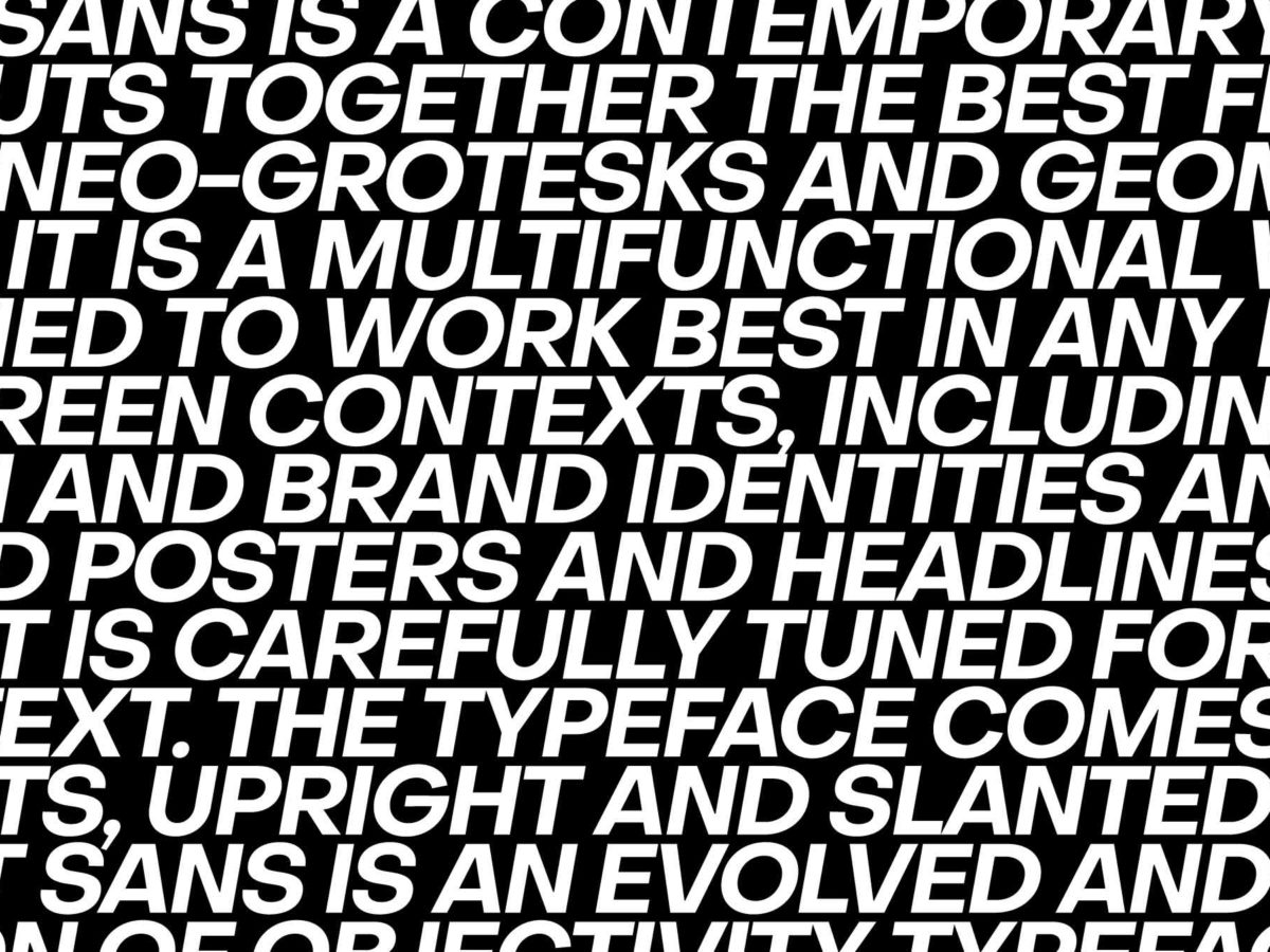 """""""Focus on what you're interested in and don't waste time on anything else"""" – typography by Alex Slobzheninov"""